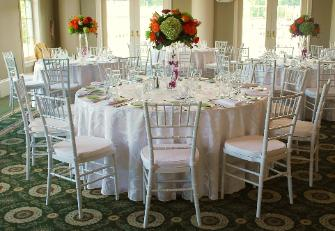 ballroom and folding chair rentals wedding chair information